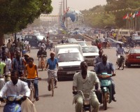 buzz in ouagadougou, at the place des nations unies