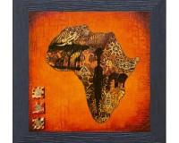 Dessein de l'Afrique