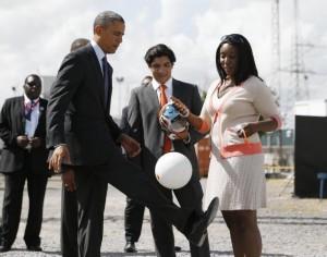 Obama Tanzanie