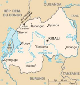rwanda carte