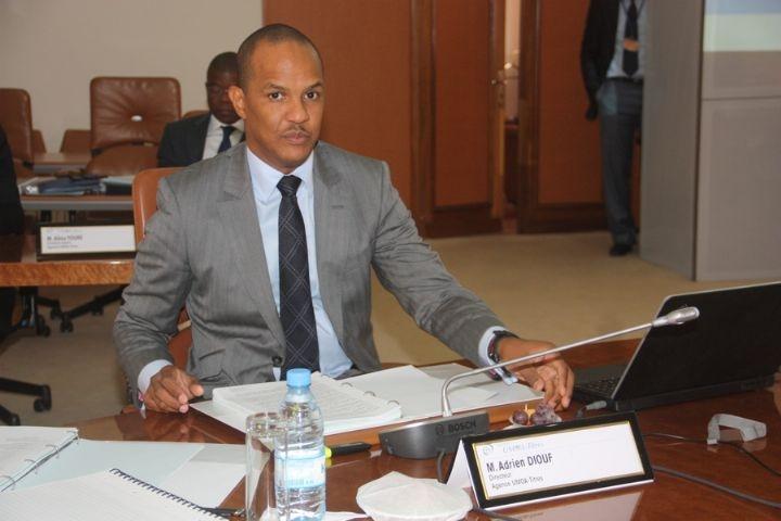Adrien Diouf, Directeur de l'Agence UMOA-Titres
