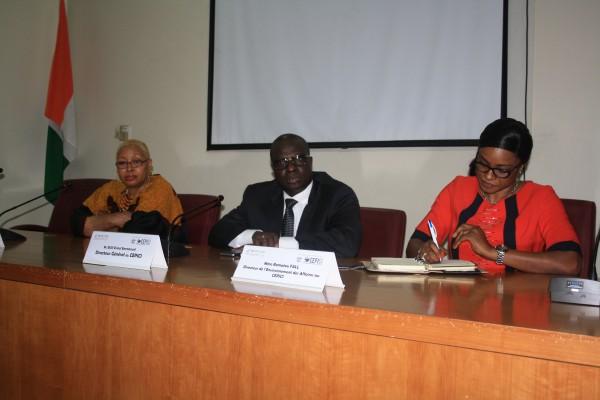 CEPICI- Sensibilisation sur les reformes Doing  Business
