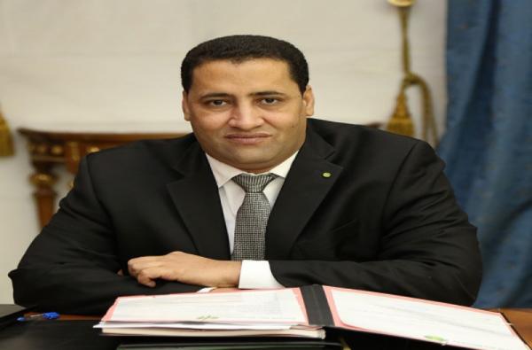 Moctar Ould Diaye, ministre de l'économie et des finances,