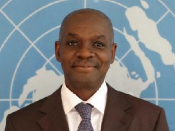 Albéric Kacou en qualité de vice-président en charge des ressources humaines et des services institutionnels