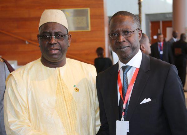 Le Président sénégalais Macky sall et son premier ministre mouhamed boun Abdallah Dione