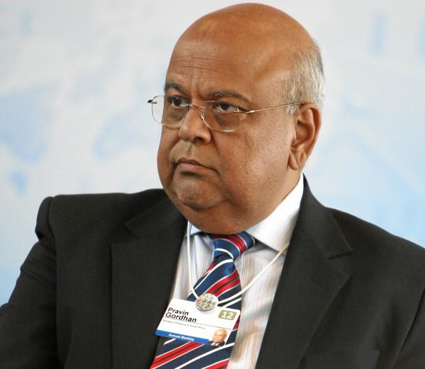 Pravin Gordhan, Ministre des Finances