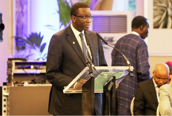 Amadou Ba, ministre senegalais de l'Economie, des Finances et du Plan