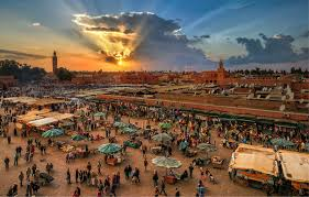 Marrakech jama al fna