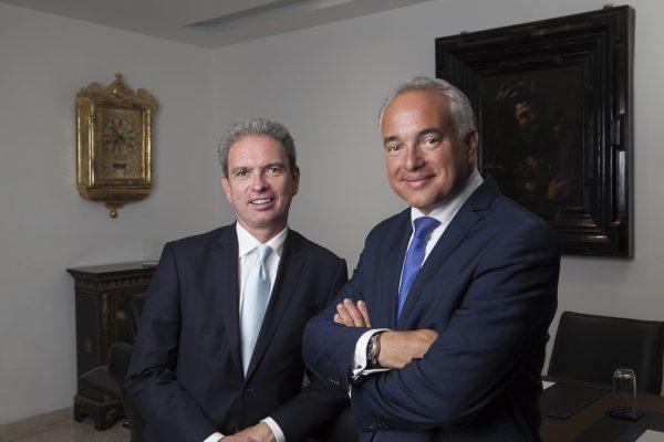 Mr Albert Alsina (à droite), PDG, et Mr Daniel Viñas (à gauche), partenaire de Mediterrania Capital