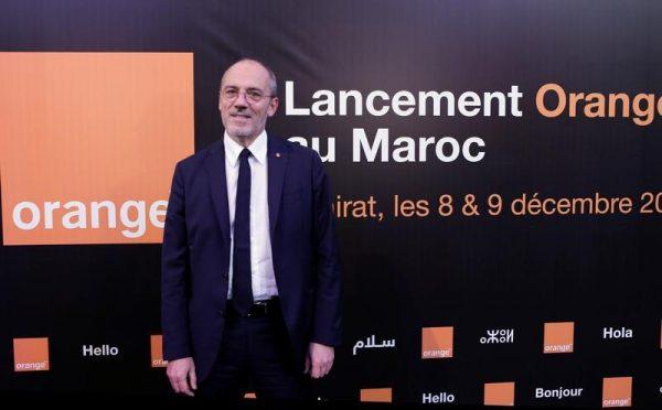 Stépane Richard, PDG du groupe français Orange. L'opérateur marocain Meditel, contrôlé à hauteur de 49% par Orange, a été rebaptisé à son tour jeudi aux couleurs du numéro un français des télécoms, déterminé à jouer sa carte sur un continent africain au fort potentiel de croissance. /Photo prise le 8 décembre 2016/REUTERS/Youssef Boudlal
