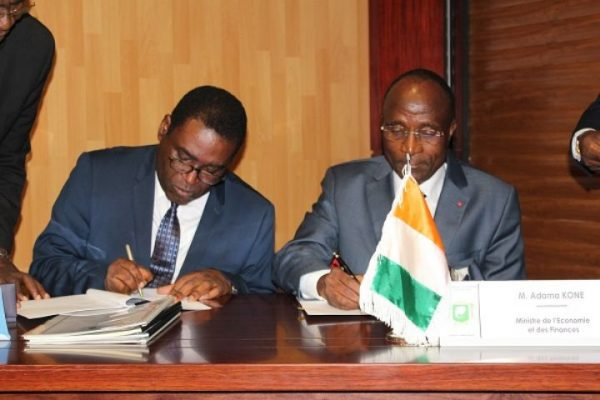 Signature de convention CI-BAD pour le financement de 2PAI Région du Bélier