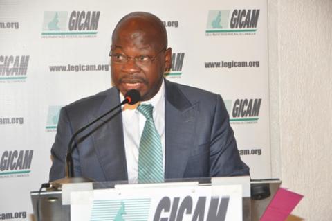 Alain Blaise Batongué, secrétaire exécutif du Groupement interpatronal du Cameroun (GICAM)