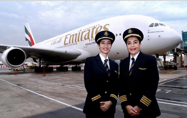 Les Femmes Pilotes A380 Emirates | Journée internationale de la femme |