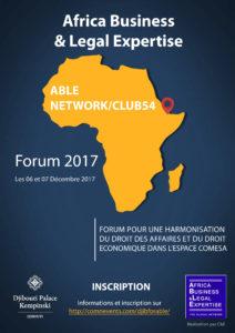 Djibouti, forum sur l'harmonisation du droit des affaires et du droit économique dans l'espace COMESA