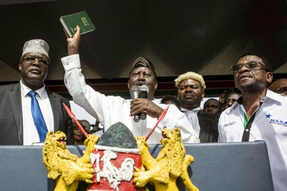 Raila Odinga inquiète toujours Uhuru Kenyatta — Kenya