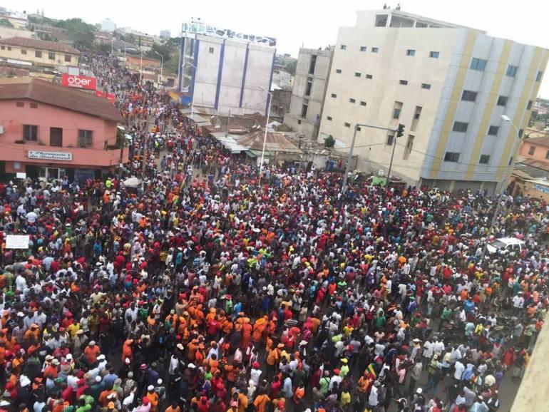 Jean Pierre Fabre parle des exigences de l'opposition — Dialogue au Togo