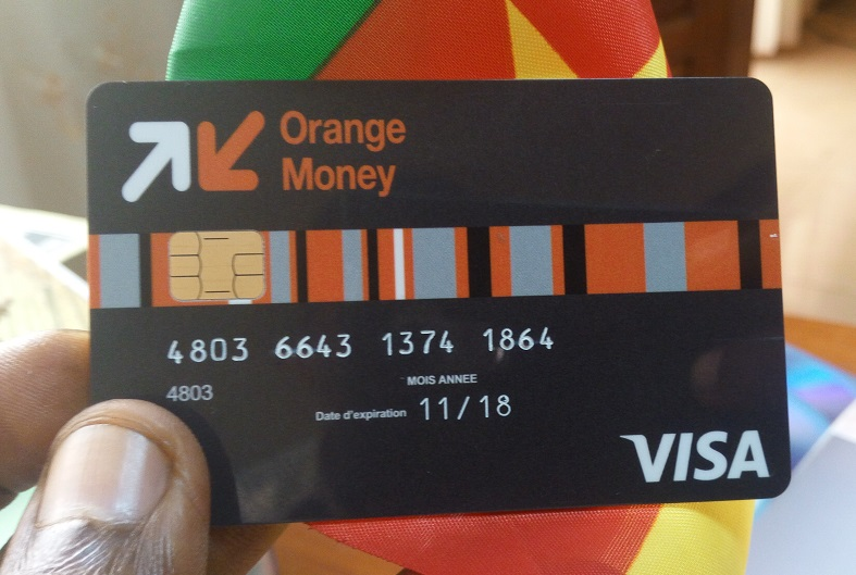 carte visa orange bank Visa rdc cote divoire