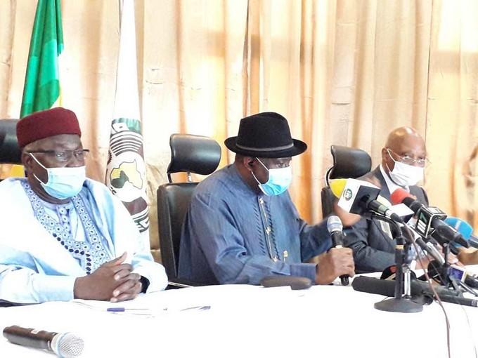 Au Mali, la CEDEAO est claire: «aucune forme de changement non ...